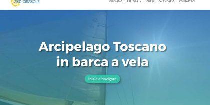 Asd Girasole, in Barca a Vela Arcipelago Toscano da Livorno