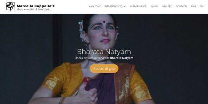Marcella Cappelletti: Danza Indiana Bharata Natyam Italia